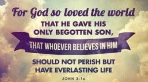 john 3:16 verse